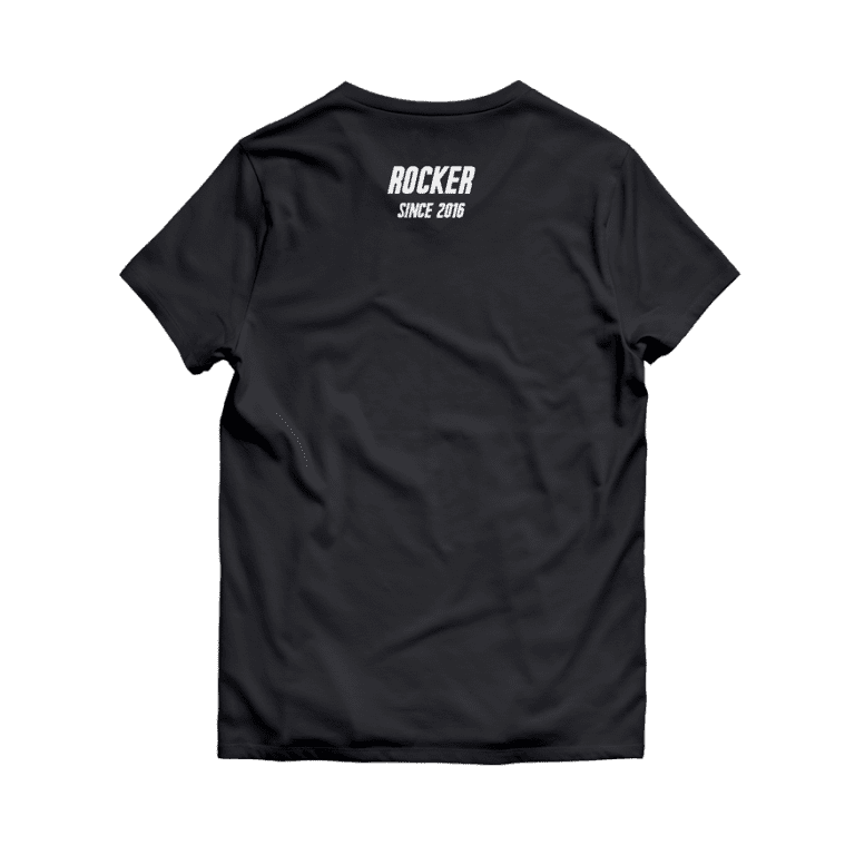 BNZSA T-Shirt Black 2016 with white letters