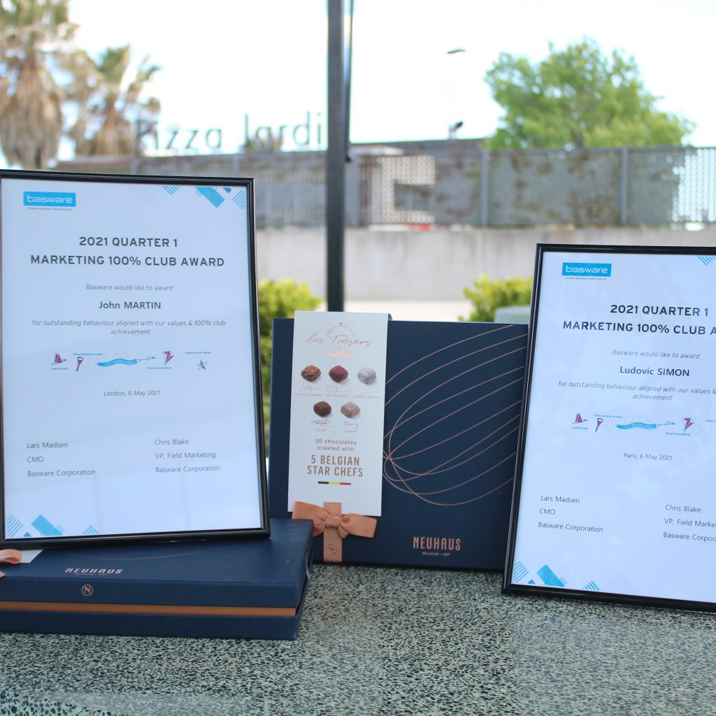 Awards for BNZSA's outsourced BDR team